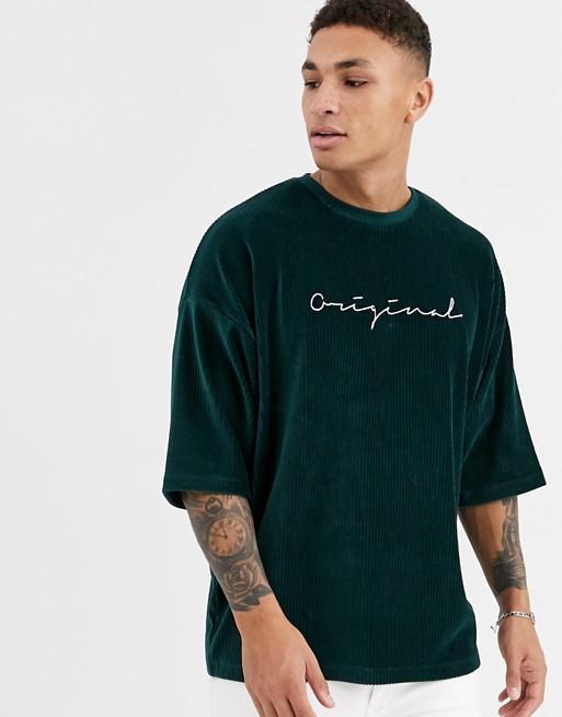 asos-design-oversized-corduroy-t-shirt