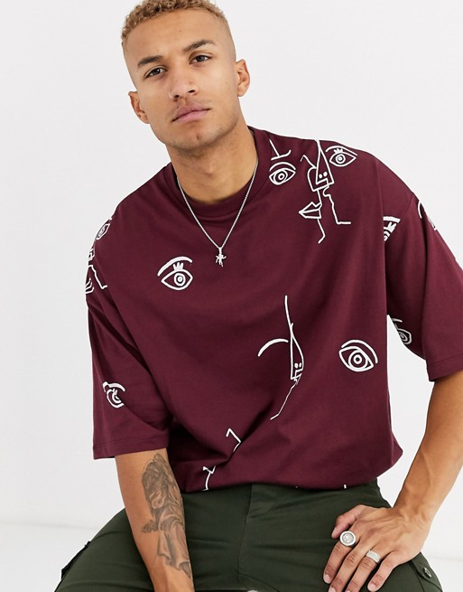 burgundy-tshirt